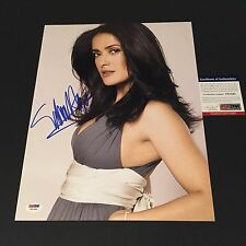 Salma Hayek Frida Oscar Academy SEXY Signed Auto 11x14 PHOTO PSA/DNA