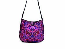 Medium Embroidered Hmong Summer Tote Bag Messenger Bag Thailand WHOLESALE AVAIL.