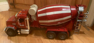 """25"""" Bruder MACK Granite Cement Mixer TRUCK 1:16 Toy Made Germany 1545 Used BIG"""