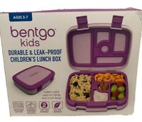 Bentgo Kids Lunch Box Bentgo Style Durable and Leak Proof, Purple, LeakProof