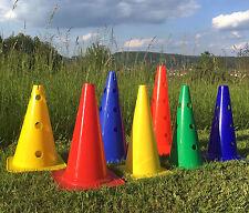Trainingshilfen-Auswahl: Markierungskegel Pylonen Hütchen Kegel & Hürdenstangen