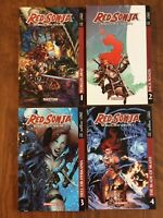 Red Sonja: Worlds Away Vol. 1 2 3 4 (1-4) Complete Series (0-20) TPB Amy Chu!