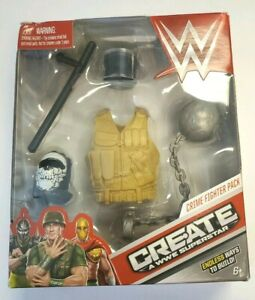 WWE Wrestling Create A WWE Superstar Crime Fighter Accessory Pack Mix & Match