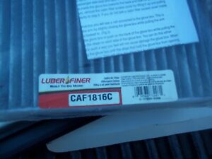 Cabin Air Filter-ELECTRIC/GAS Luber-Finer CAF1816C