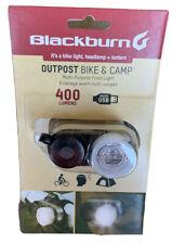 Blackburn Outpost Bike Light Headlamp Lantern 400 Lumens USB NEW!!