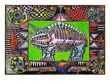 Jörg Schulthess Der Traum vom Nashorn Poster Kunstdruck Bild 45x60cm - Portofrei