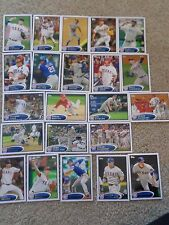 2012 Topps Series 1,2,Texas Rangers  Team Set  Cards Mint condition