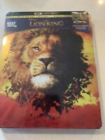 Disney's The Lion King 2019 Steelbook ( 4K Ultra HD, Blu Ray, Digital) Sealed!