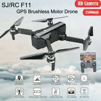 SJRC F11 Foldable GPS 5G 1080P HD Camera WiFi FPV Brushless RC Quadcopter Drone