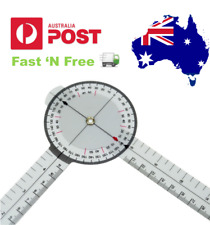 """13"""" inch 33cm Calibrated Goniometer Medical Joint Ruler 360 Degrees"""