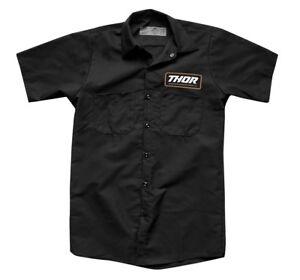 Thor MX Motocross Standard Work Shirt (Black) Choose Size