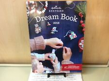 HALLMARK DREAMBOOK 2018 KEEPSAKE ORNAMENTS NEW 93 PAGES SHIPS OUT FAST!!