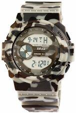 Herrenuhr Digital Beige Braun Grau Camouflage + Box Militär D-2400006004450