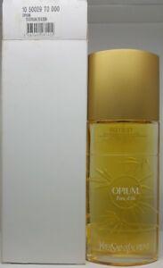 YVES SAINT LAURENT YSL Opium Eau d'Ete 2004 100ml Unused Tester Rare Perfume