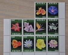 ARUBA 2013  SERIE BLOEMEN FLOWERS FLEUR ++  MNH POSTFRIS **