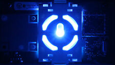 Custom BRIGHT BLUE XBOX 360 Ring of Light / RF / ROL / Power Button Board