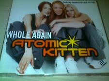 ATOMIC KITTEN - WHOLE AGAIN - UK CD SINGLE