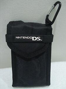 NINTENDO DS Soft Black Case (NINTENDO BRAND) New