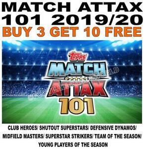 MATCH ATTAX 101 2019/20 19/20 2020 - HEROES/ MIDFIELD/ DEFENSIVE/ STRIKERS/ TEAM