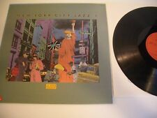 NEW YORK CITY JAZZ LP SAM RIVERS. FREE JAZZ. CAR COVER TAXI NEW YORK