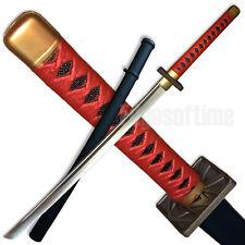 POLYPROPYLENE EVA+PU MARTIAL ARTS RED SAMURAI TRAINING KATANA SWORD COSPLAY