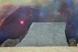 Balambala IIF Iron Meteorite 68.5g etched part slice with carbonaceous traits