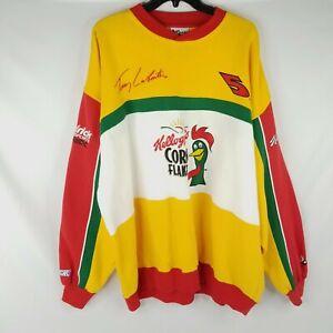 Vtg Chase Authentics Men's Size XXL Kellogg's Terry Labonte Racing Sweatshirt