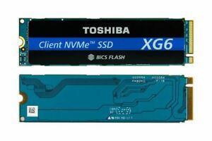 NEW Toshiba XG6 512GB M.2 SSD PCIe NVMe M2 Solid State Drive KXG60ZNV512G Latest