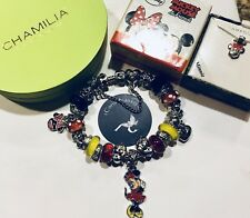 Authentic Chamilia Bracelet W/Mother~daughter ~Minnie~ & ~Minnie Necklace