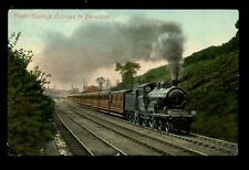 RAILWAY GER Express to Yarmouth Norfolk 1909 PPC