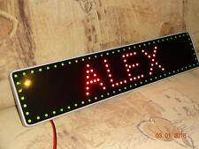 SCANIA  Trucker LKW Namensschild  LED Panel  12 oder 24v VIDEO !