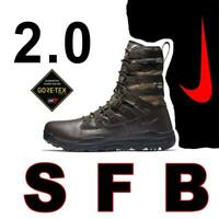 "NIKE SFB GEN 2 8"" BOOTS REALTREE CAMO GORE-TEX LEATHER HUNTER AJ9277-220 9.5"
