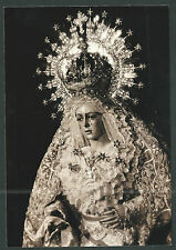 Foto Virgen de la Macarena andachtsbild santino holy card santini