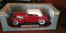Signature Models 1937 Cord 812 Supercharged 1:18th diecast Mint Boxed!