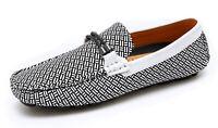 Mocassini uomo casual bianco nero primavera estate scarpe man's shoes eleganti