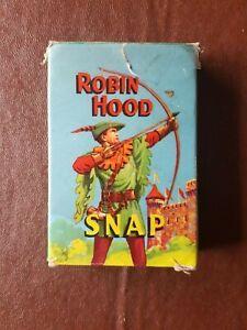 Vintage Robin Hood - Snap card game 1955 - Very rare.