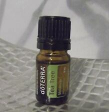 TEA TREE PURE ESSENTIAL OIL, doTERRA 5ml., AROMATHERAPY OIL, CLEANSING, CLARIFY