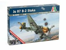 Italeri 1/48 JU 87 B-2 Stuka German WWII Dive Bomber Kit 2690