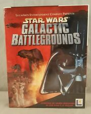 Star Wars: Galactic Battlegrounds (PC, 2001) BIG BOX GAME FRENCH VERSION NEW