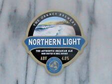 ORKNEY NORTHERN LIGHT REAL ALE BEER PUMP CLIP SIGN