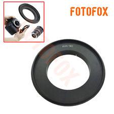 58mm Macro Reverse Lens mount adapter ring for Nikon 1 J1 V1 J5 V3 camera 58 mm