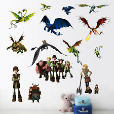 How to train your Dragon Wall Stickers Decal Vinyl Children Bedroom Decoration
