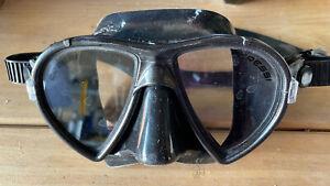 Cressi Ocean Dark Scuba Freediving Snorkeling Mask