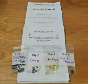 Harman Kardon Citation I 1 A IV 4 restoration recap repair service rebuild kit