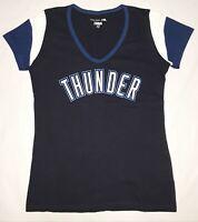 OKLAHOMA CITY THUNDER NBA 5th & Ocean by NEW ERA Women's T-Shirt M