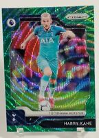 2019-20 Panini Prizm Premier League Harry Kane SP Green Wave Prizm Tottenham