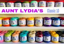 Aunt Lydia'S Crochet Thread Classic #10 100% Cotton (400 Yds)