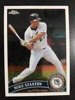 Mike Stanton 2011 Topps Chrome #85 Florida Marlins New York Yankees