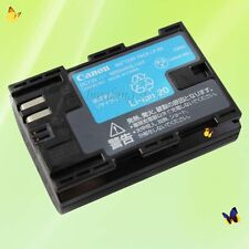Genuine Original Canon LP-E6 Li-ion Battery for LC-E6E EOS 7D 70D 60D 60Da 5D