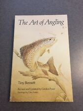 The Art of Angling by Tiny Bennett Fishing Tackle Lures Revised 1986 Paperback